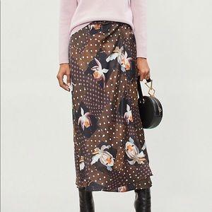 Topshop Orchid Maxi Skirt